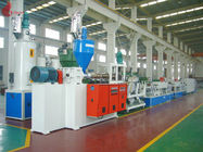 Trung Quốc Hydraulic net changer PET Strap Production Line 150KW 60 - 70kg/h Công ty
